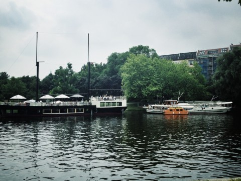 Båtar Landwehrkanal