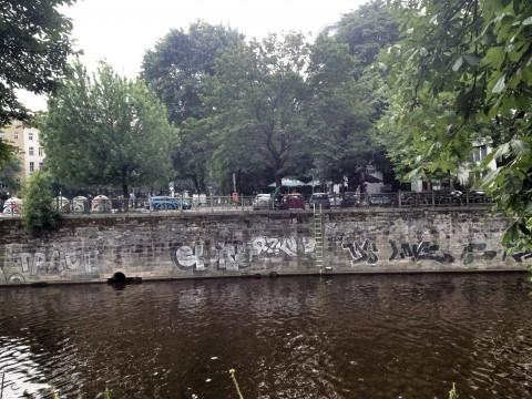 Graffiti Landwehrkanal