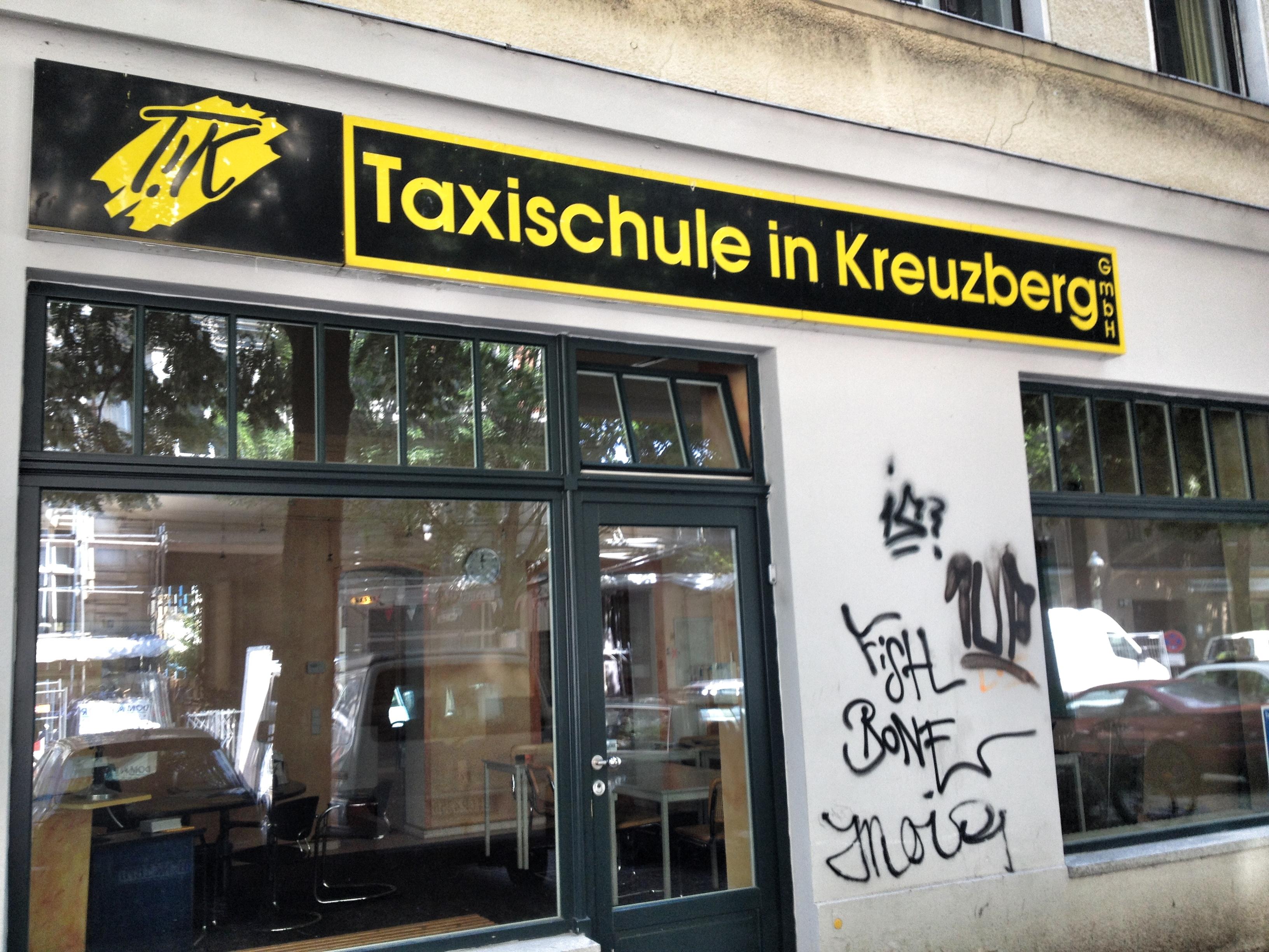 Taxischule in Kreuzberg