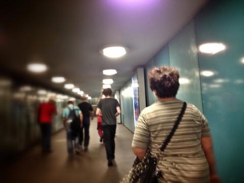 U-bahn resenärer